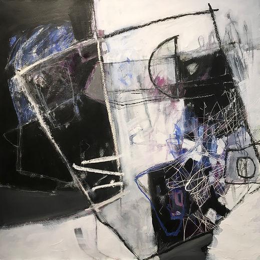 Three chairs lite by Dorothy Ganek