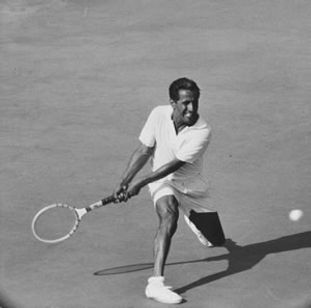 Pancho Segura at Berkeley Tennis Club