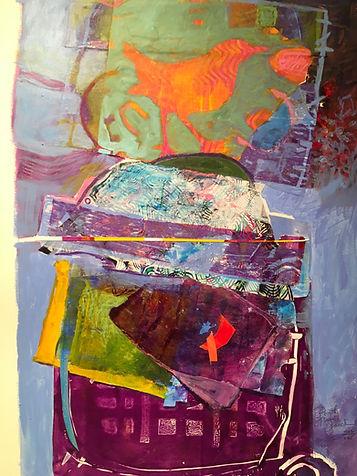 Opal fire by Dorothy Ganek
