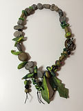 Polymer jewelry 18 by Dorothy Ganek
