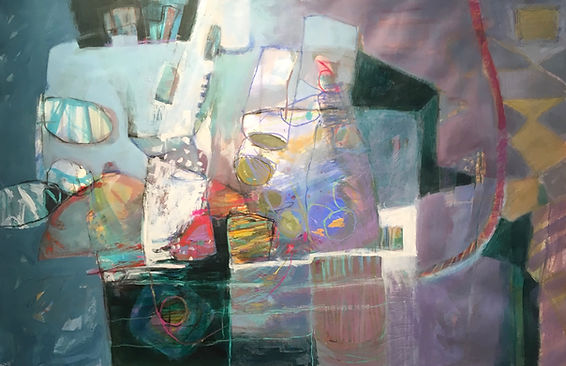 Blue Light  by Dorothy Ganek
