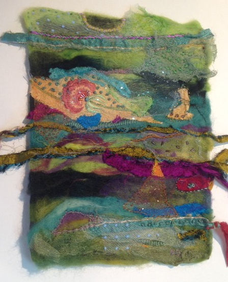Machine Felting by Dorothy Ganek