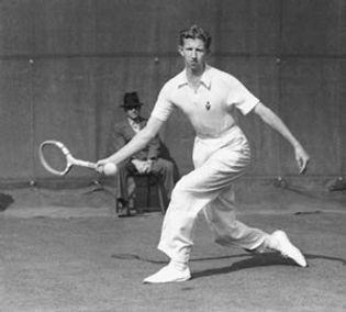 Don Budget at Berkeley Tennis Club