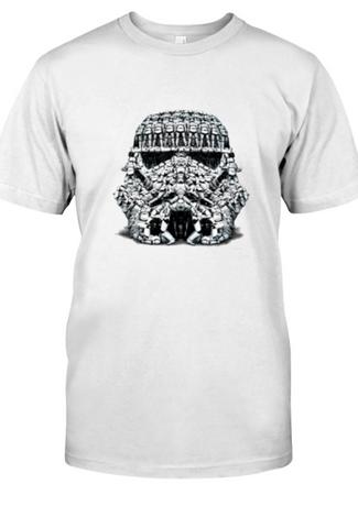 Storm Trooper Helmet T-Shirt