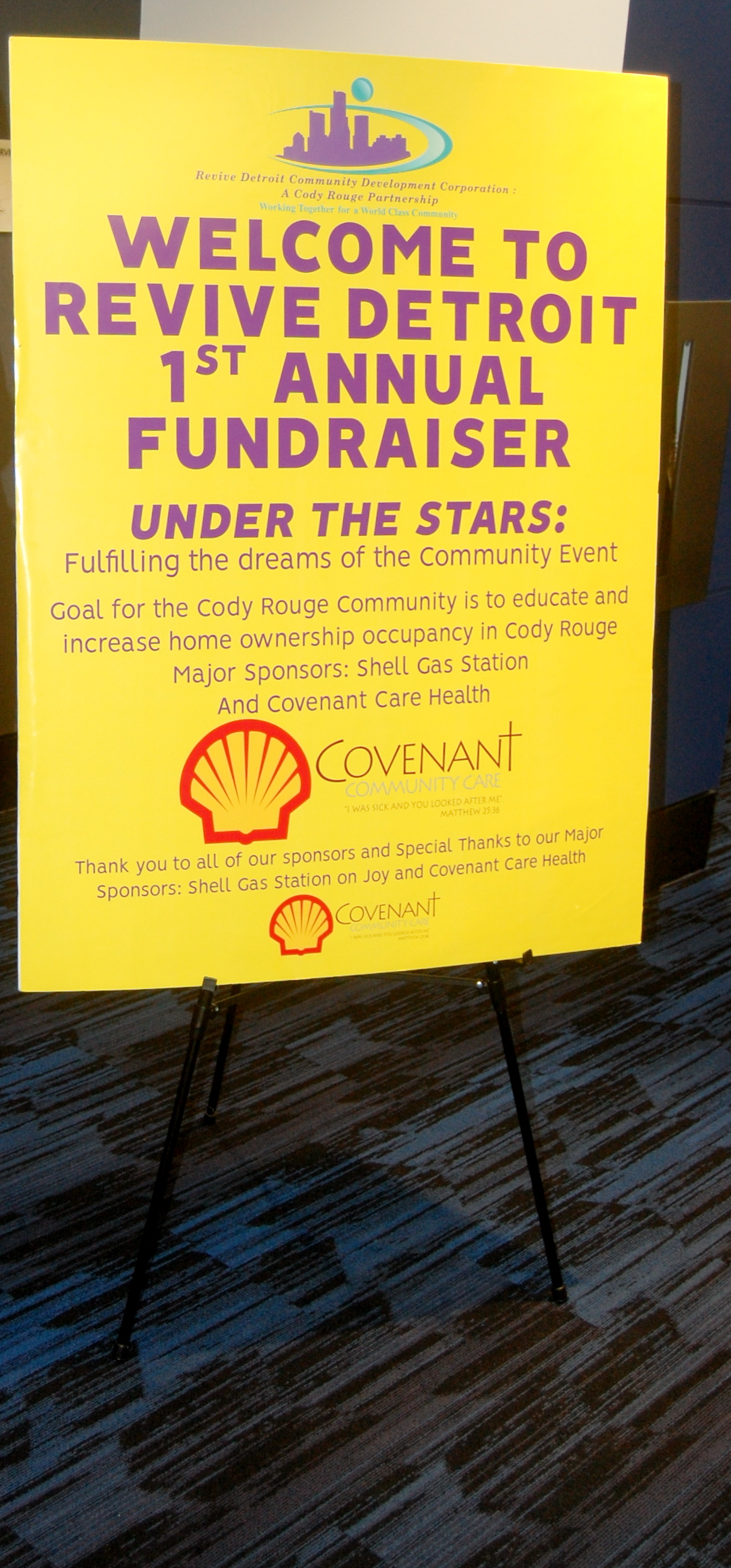 1st Annual Fundraiser