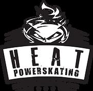 HEAT-Powerskating-Logo-with-Stars---B&W.