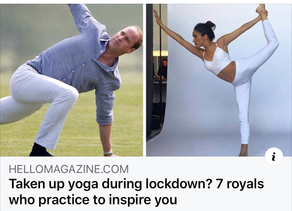 Royal Family do Yoga