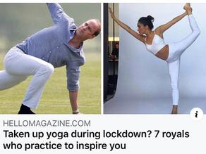 Royal Family do Yoga