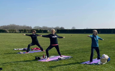 Yoga in the Park, Binsted