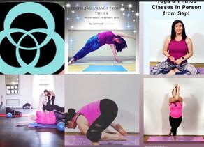 Are you a Pilates VIP & Yoga VIP? New Classes start Nov 🧘♀️
