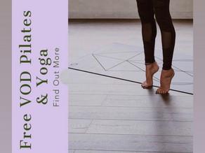 Get 7 Days Free Yoga & Pilates Classes