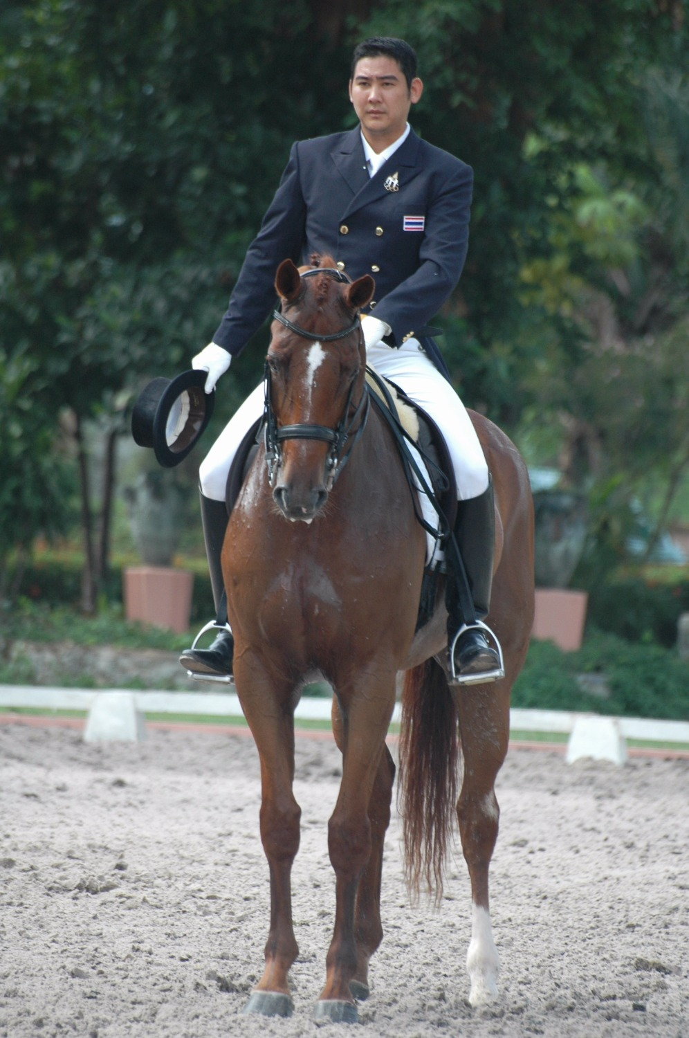 Riding Waldzauber in SEA Games 2007