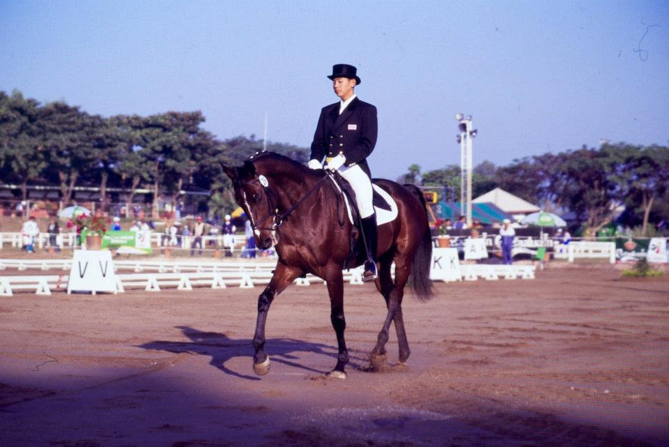 Chiangmai SEA Games1995 on Chakrawan
