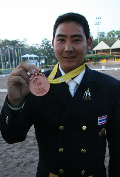 Bronze medal in SEA Games 2007