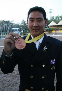 Bronze medal in SEA Games 2007