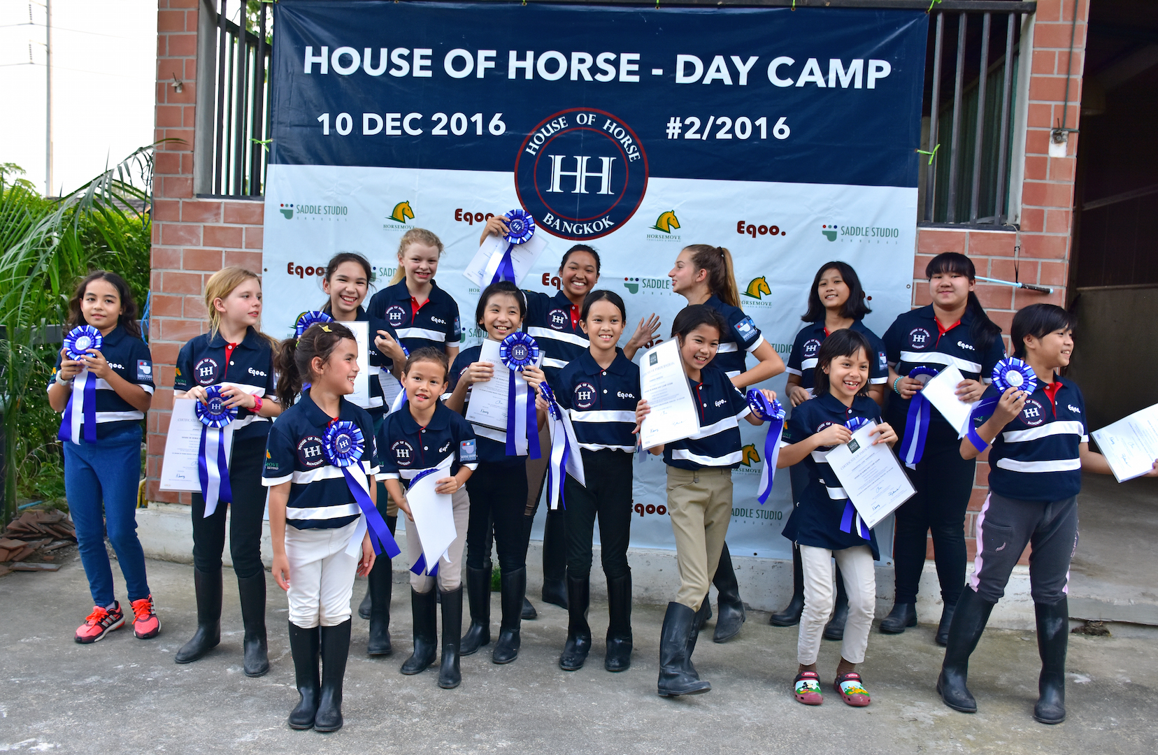 Youth Riders at HOUSE OF HORSE