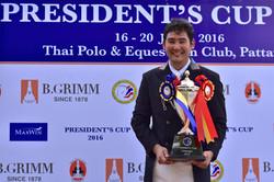 Winner of President's Cup 2016