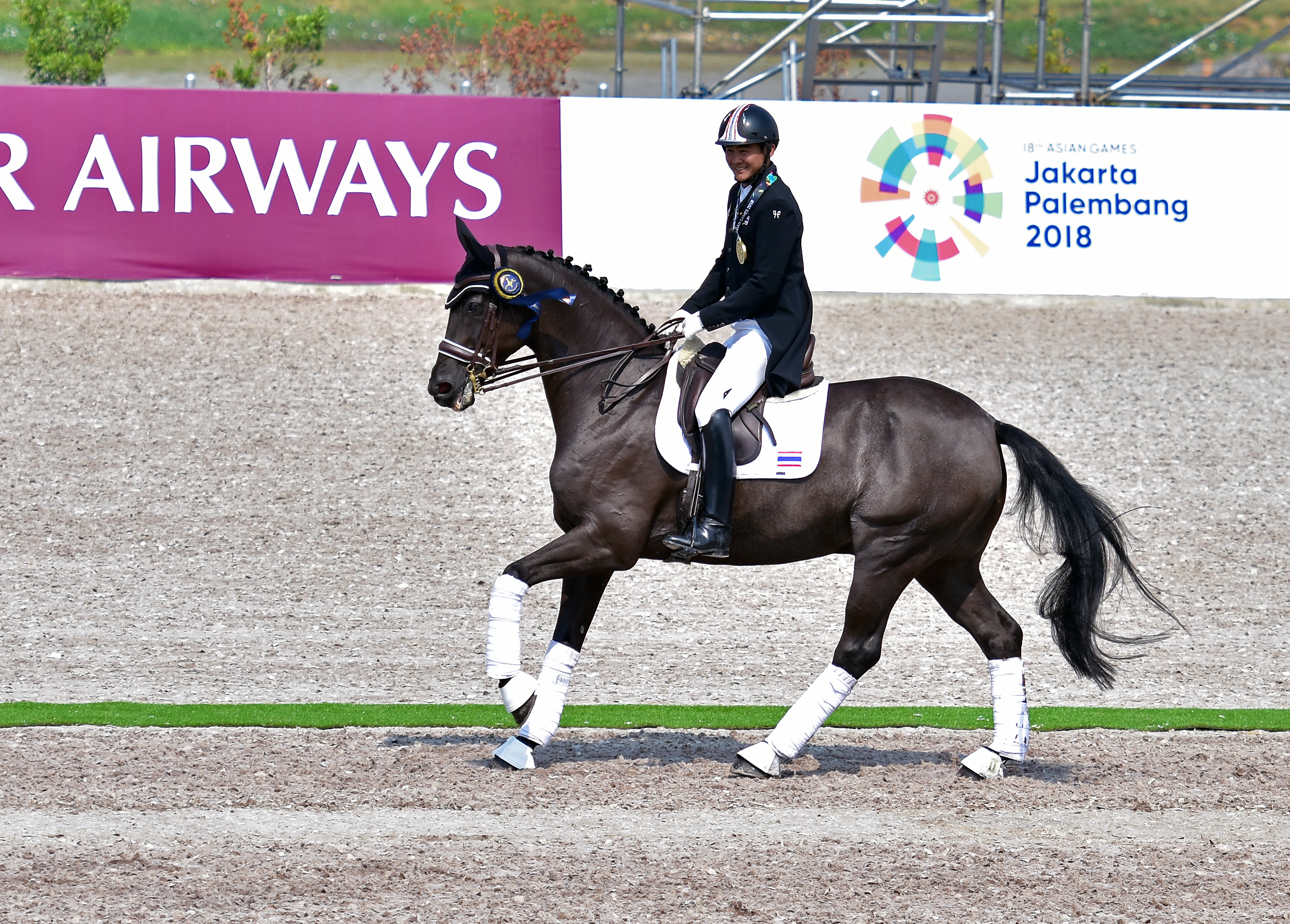 Victory Lap in Dressage Team