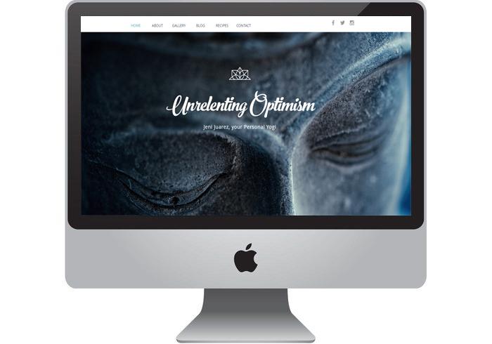 Yoga Coach Website