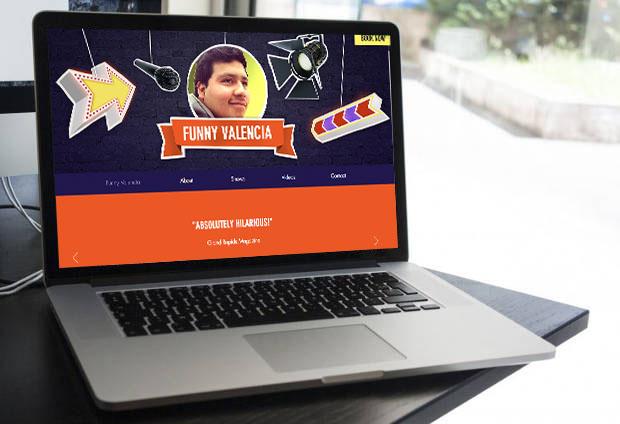 Comedian Portfolio Website