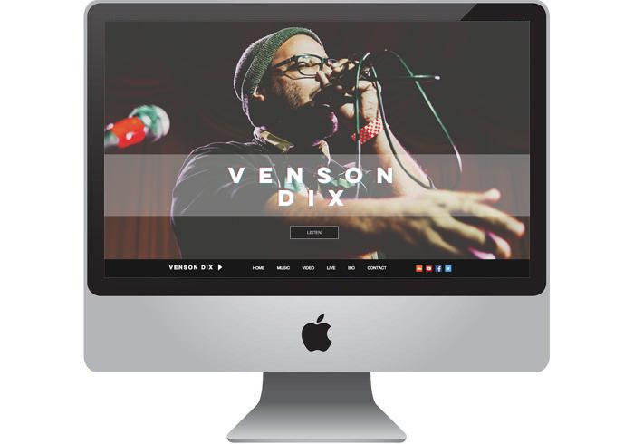Artist Vendon Dix Website
