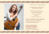 Classical guitarist Nirit Ziv-Wexler is active as a chamber and solo musician,she studied under the guidance ofProfessor Joseph Urshalmi at the Jerusalem Rubin Academy of Music, and with Professor Benjamin Verdery at the Yale School of Music.During her student years she won scholarship awards from the America-Israel cultural foundation.נירית זיו-וקסלר\גיטריסטית ישראלית