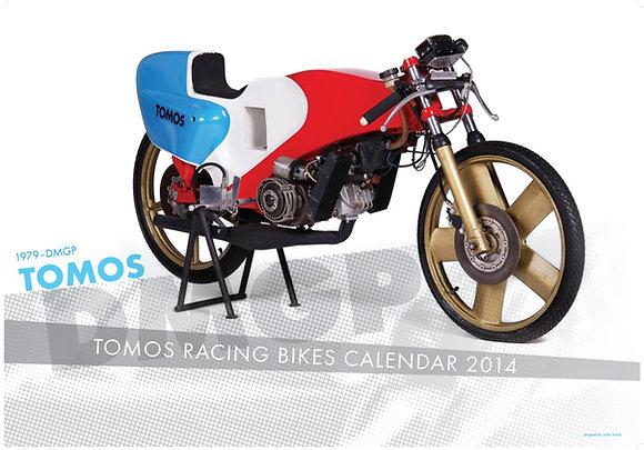TOMOS racing bikes calendar 2014