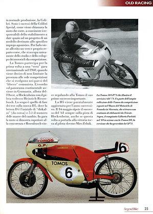 magazine: Legend Bike - TOMOS GP71 article