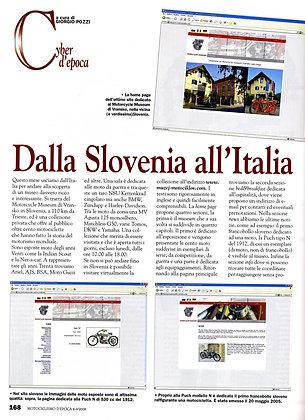 magazine: Motociclismo d'Epoca