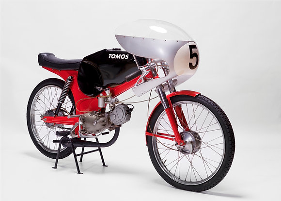 TOMOS D5 factory racer