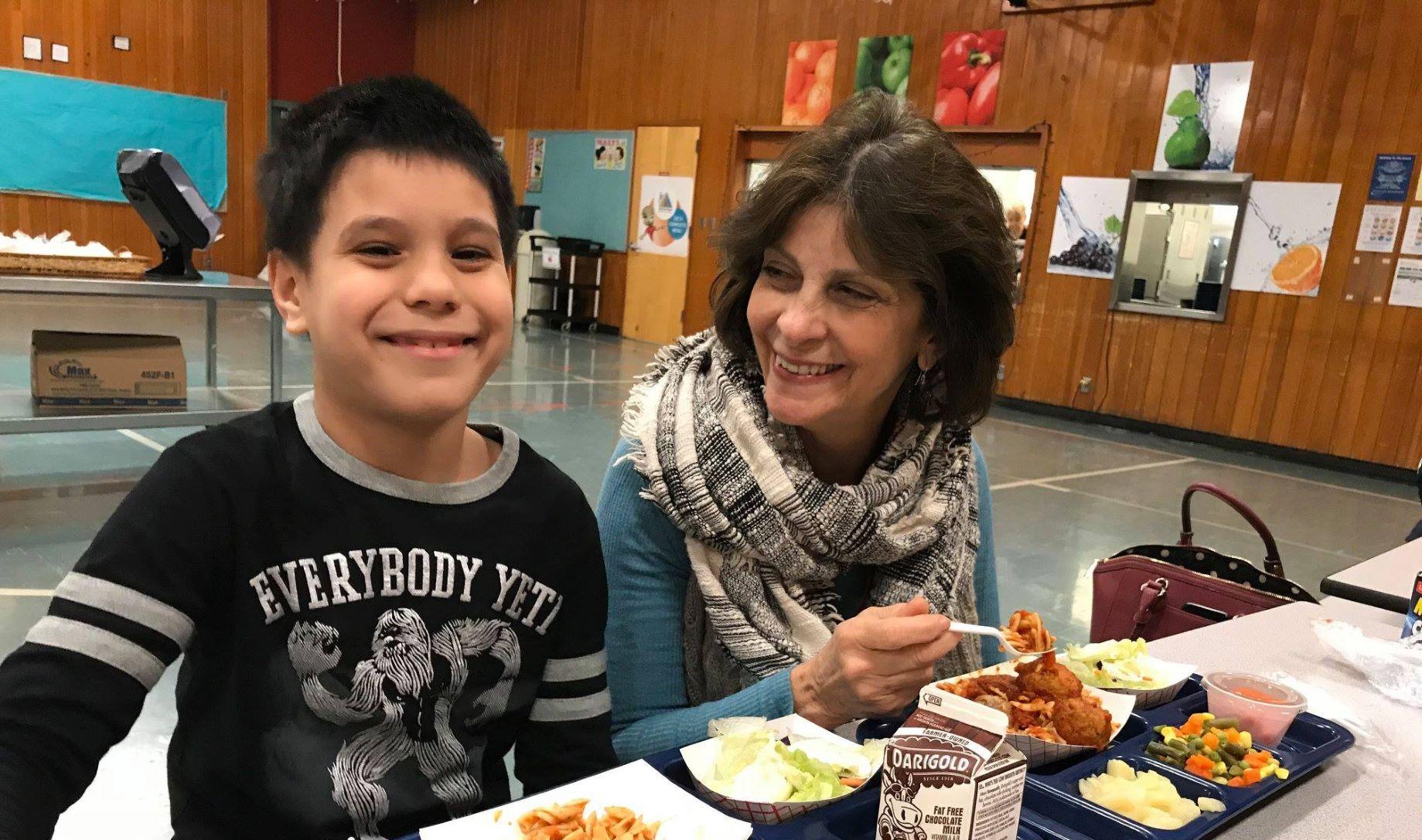North Clackamas School District Lunch Buddies program