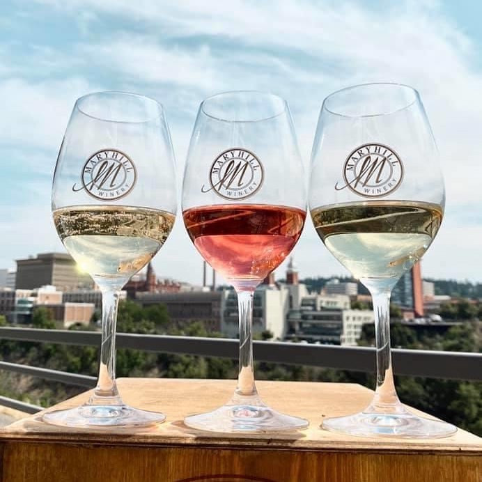 A wine tasting from Maryhill Winery
