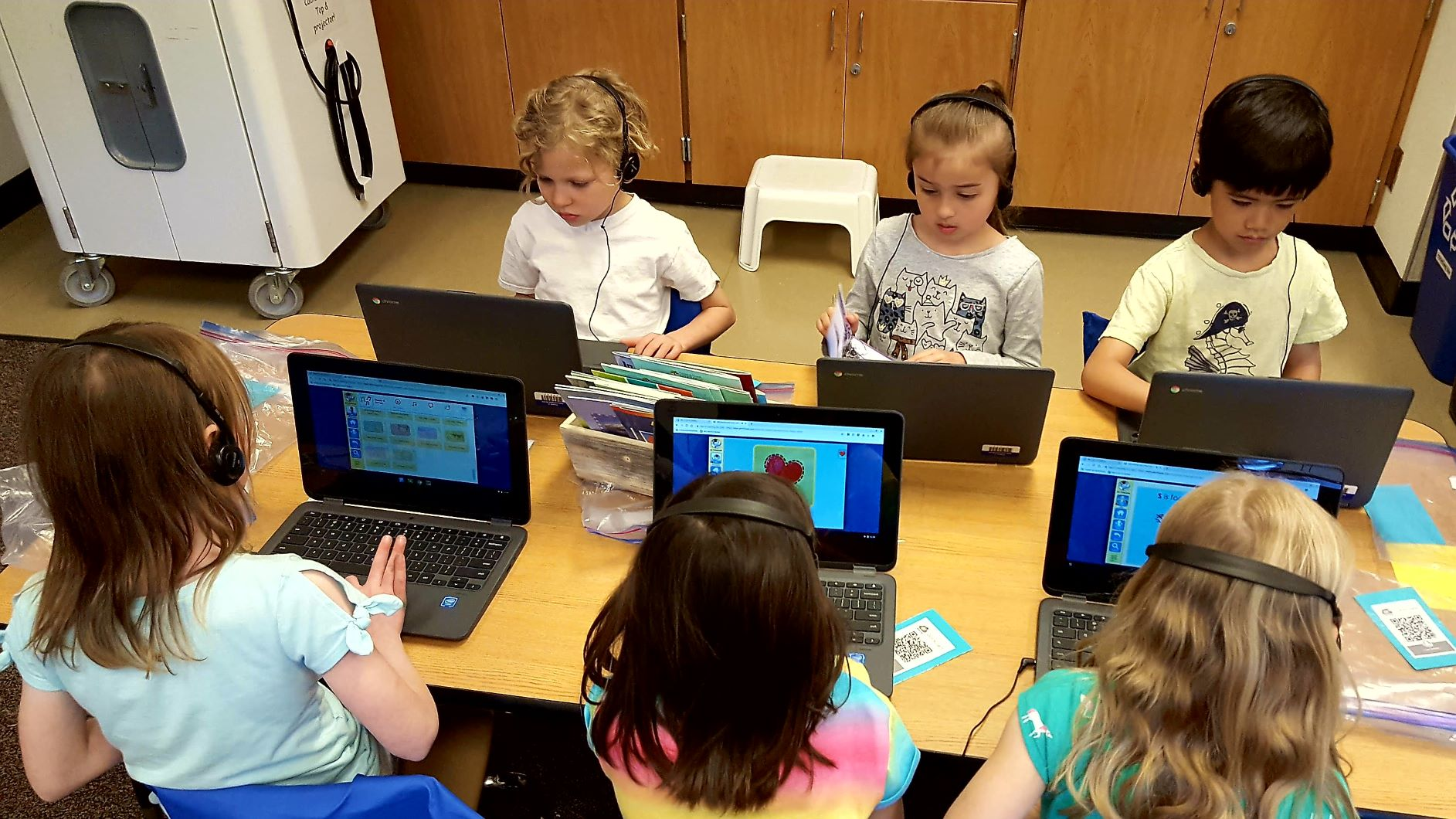 Mt. Scott Elementary students receive Chromebooks