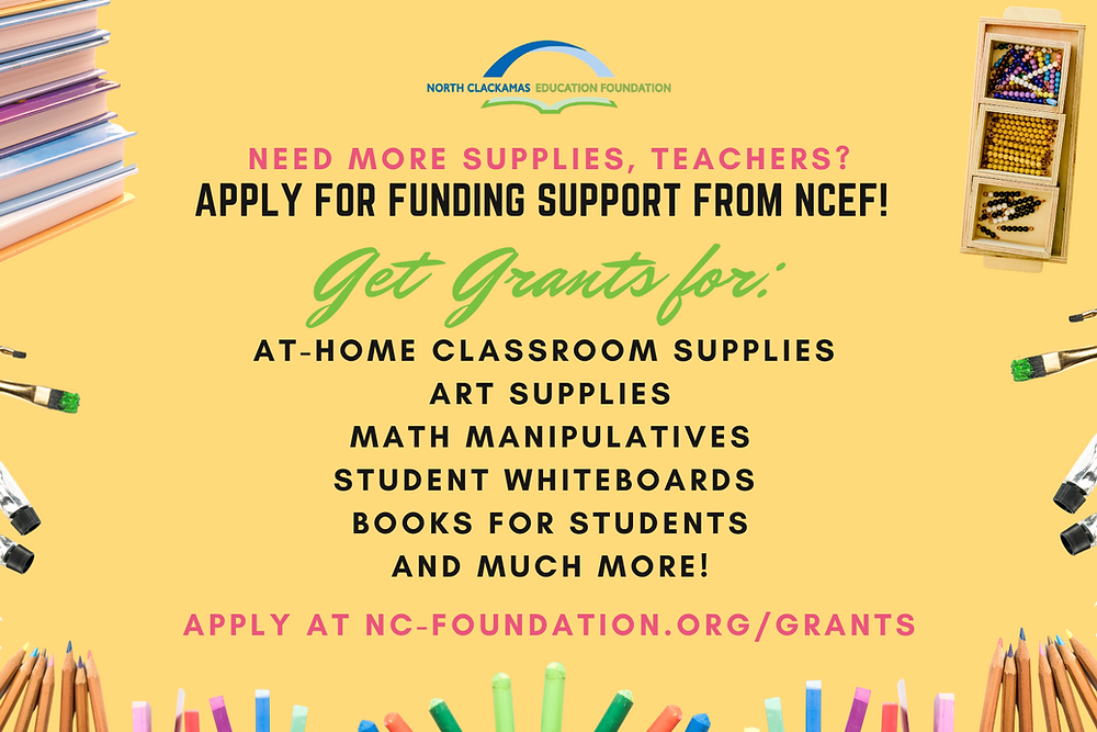 Calling all North Clackamas School District Teachers!