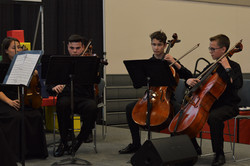 NCSD students provided entertainment