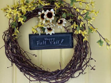 HOME: Happy FALL Y'all!