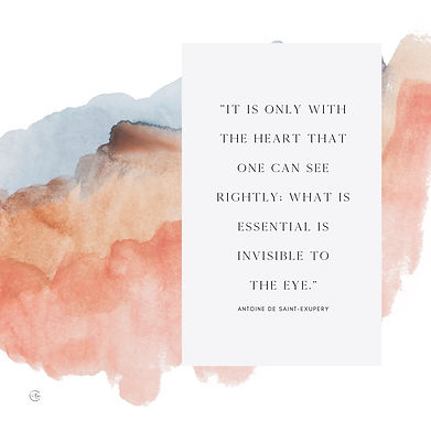 _Q.It is only with the heart that one ca
