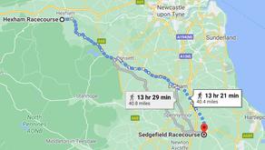 Leg 4 -  Hexham to Sedgefield