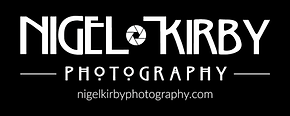 Nigel Kirby Photography Logo black bkgnd