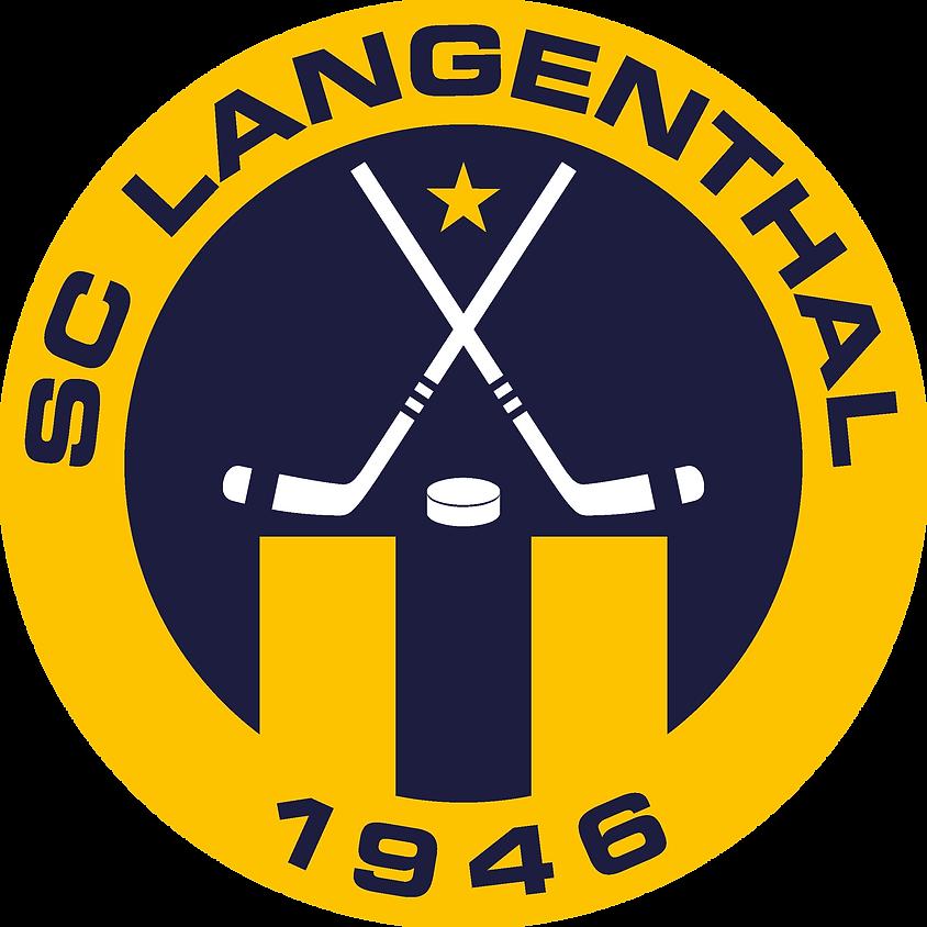 EHC Langenthal - HC Sierre