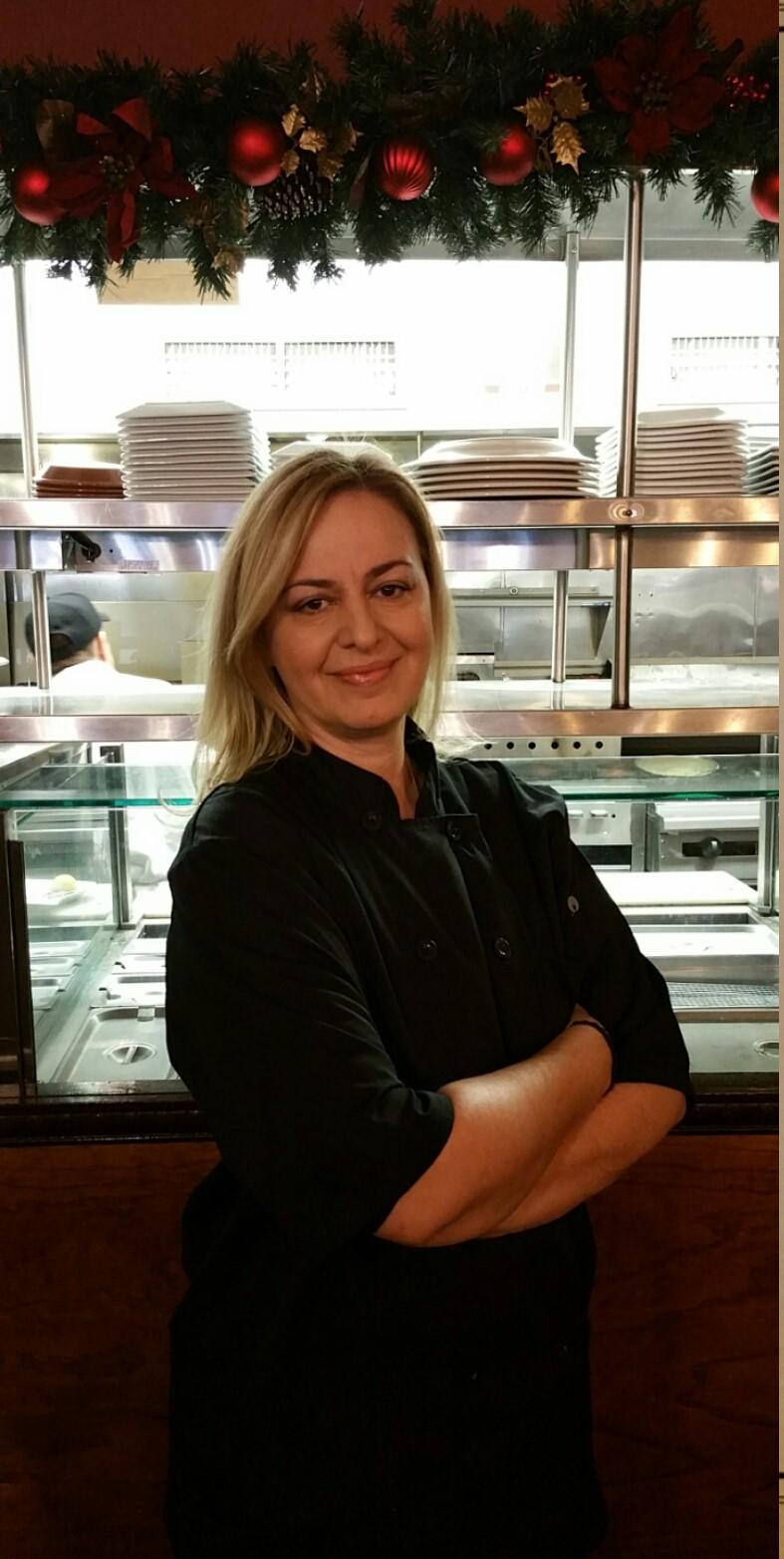 Chef Maria Petridis