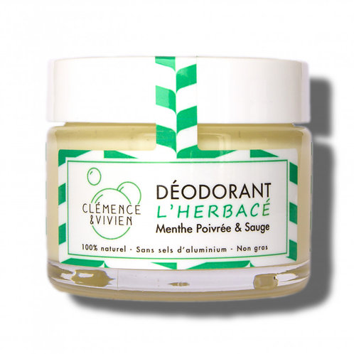 Déodorant Clémence & Vivien l'Herbacé