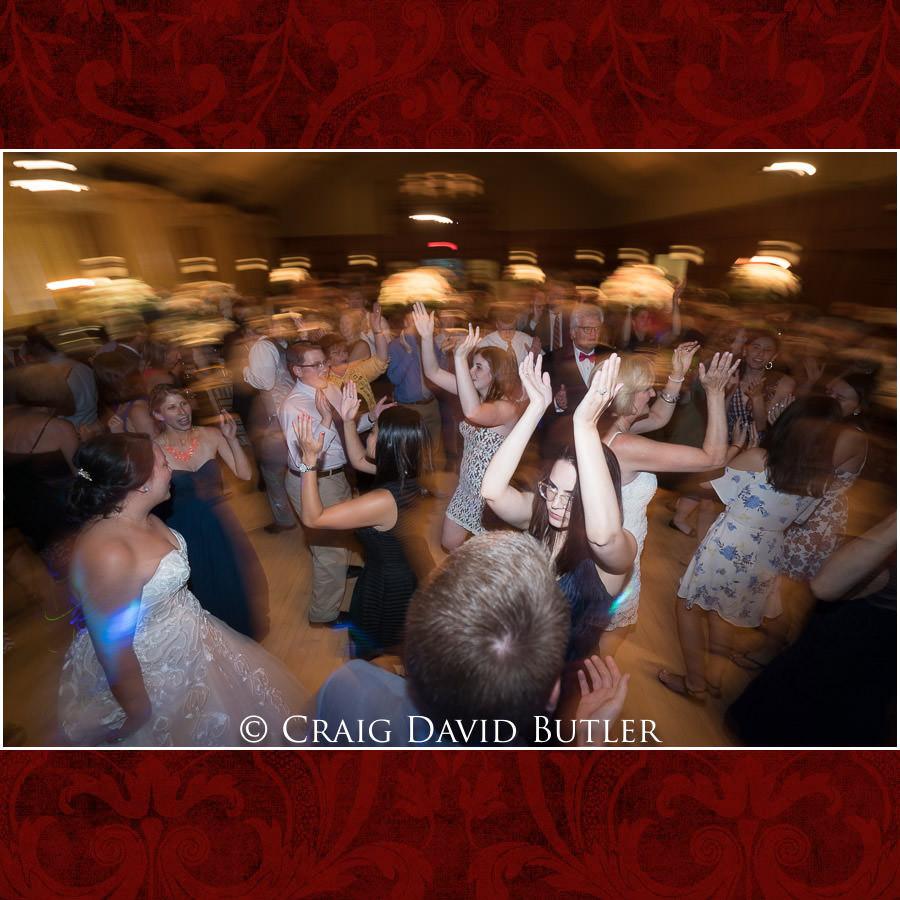 Reception Dancing -Wedding Photos, Michigan League, St. Francis Azizi, Ann Arbor MI, CDBStudios