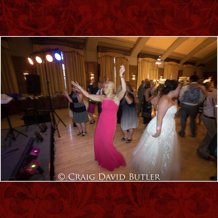 Reception Dancing - Wedding Photos, Michigan League, St. Francis Azizi, Ann Arbor MI, CDBStudios