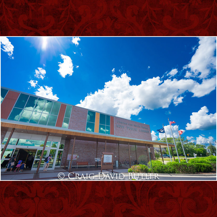 Novi Public Library - Michigan-Wedding-Photographer-Novi-CraigDavidButler