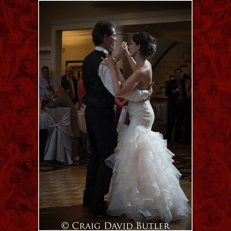 Father Daughter Dance Clarkston Wedding Photographer - Oakhurst CC, Craig David Butler