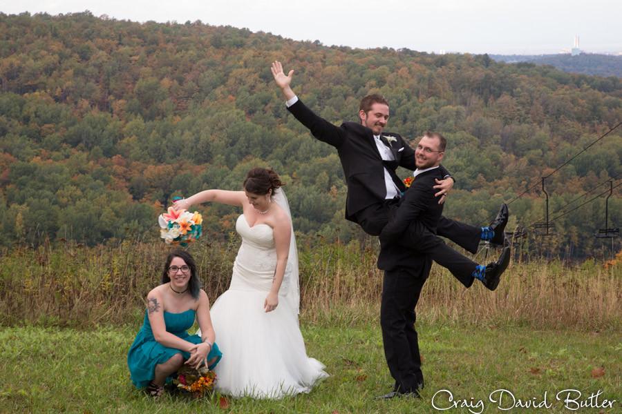 Bridal Party Photos Marquette Wedding Photography Craig David Butler Detroit
