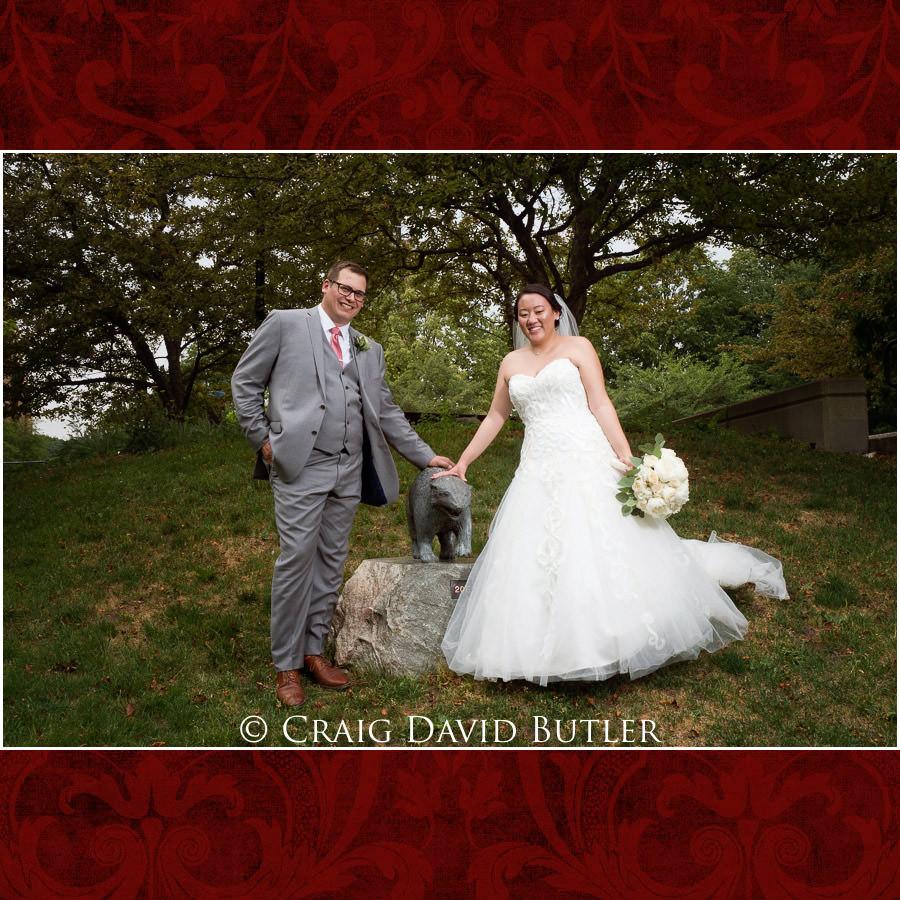 Who's a Wolverrine - Wedding Photos, Michigan League, St. Francis Azizi, Ann Arbor MI, CDBStudios