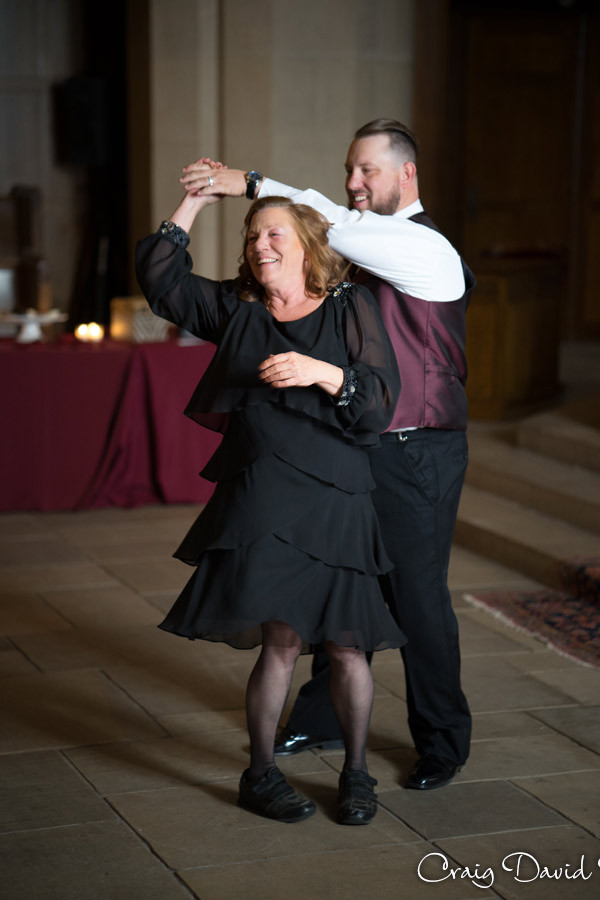 Mother Son Dance Masonic Temple Detroit MI- Wedding Photographer Craig David Butler