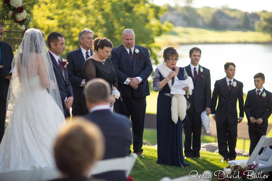 Ceremony Reading Brighton Wedding Photographer - Craig David Butler - Oak Pointe CC